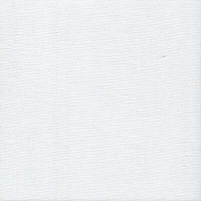 32 count Zweigart Belfast Linen Cross Stitch Fabric Fat Quarter White 49x69 cm