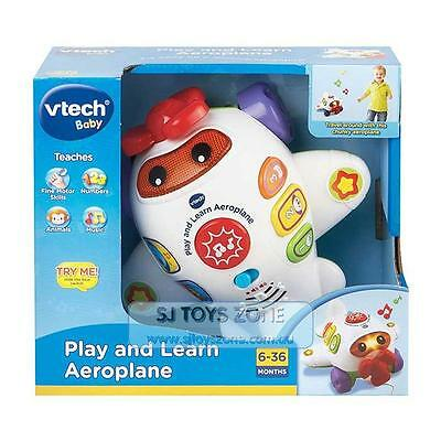 Vtech Baby Play and Learn Pull Along Plane Music Learning Toy For Kids