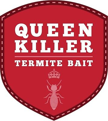 QueenKiller Termite Control Bait 3X100g Treatment (ready to use bait station)