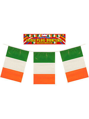 12ft Irish Eire Ireland St Patrick Day Party Decoration Flag Banner Bunting Pvc