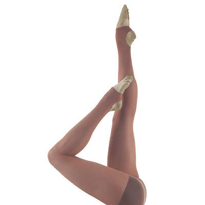 Capezio Hold & Stretch Stirrup Tights for Girls New Style 145C
