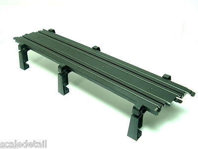 Latest new MICRO SCALEXTRIC STRAIGHT BRIDGE SECTION (G101) AND TRACK SUPPORTS