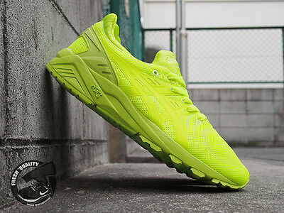 d114019848607 ASICS GEL-KAYANO TRAINER EVO MONO PRINT PACK LIME H51DQ-0505 NEW Ronnie Feig