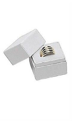 wholesale 100 Pcs WHITE COLOR  RING BOXES JEWELRY RING GIFT BOXES HAT BOX