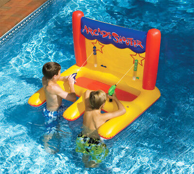 Floating Arcade Style Shooter Inflatable for Swimming Pool