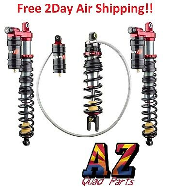 Elka Stage 3 Legacy Front & Rear Shocks Suspension Kit Yamaha Banshee 350 87-06