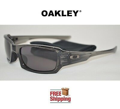 b3468141dc57d Oakley® Sunglasses Fives Squared™ Gray Smoke Frame Warm Gray Lens New Free  Ship