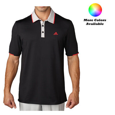 Adidas Golf ClimaCool Branded Performance Polo Shirt Pick Size & Color
