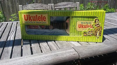 Classic J.w. Oswald Hawaiian Ukulele In Original Box Excellent Condition.
