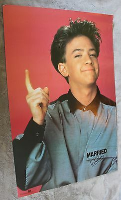 Married With Children Bud Bundy David Faustino 1987 TV Poster #1736 VGEX C7