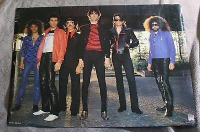 J. Geils Band Magic Dick Danny Klein Seth Justman 1980? Music Poster #RO-088 GVG