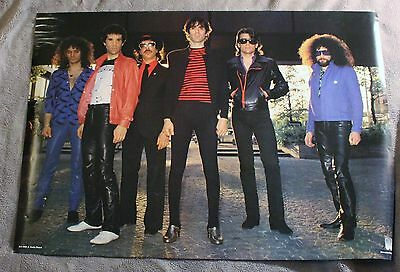 J. Geils Band Magic Dick Danny Klein Seth Justman 1980? Music Poster  VG C6