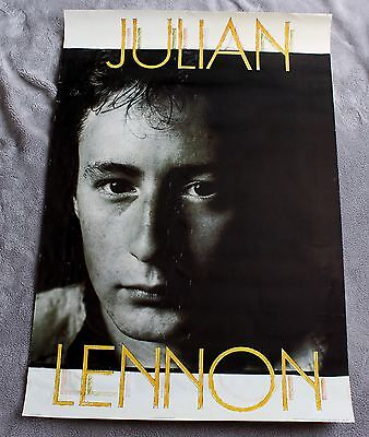 Julian Lennon 1980s? Bigfoot Vancouver Canada Scarce Music Poster  GVG C5.