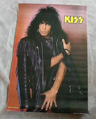 KISS 1985 Paul Stanley Leather Jacket Mark Weiss Funky Music Poster #3009 GVG C5