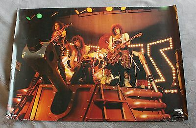 KISS Animalize 1984 Paul Stanley Gene Simmons TANK Concert Poster #RE 665 VG C6