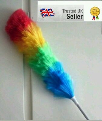 1.2m Extendable Magic Anti Static Feather Duster Telescopic Extending Handle