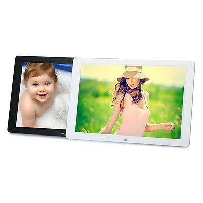 15 LED HD High Resolution Digital Picture Photo Frame + Remote Controller GT
