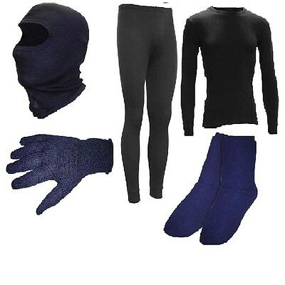 DriRider Stay Warm Winter Thermals Kit Motorbike Thermals Underwear