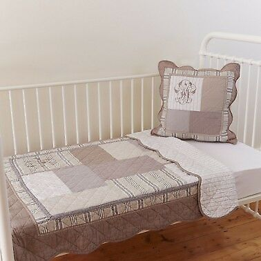 'Linens n things' Avignon Cot Quilt and Cushion Cover