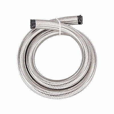 AN10 Stainless Steel Braided 1500 PSI Oil Fuel Gas Hose Line 1M