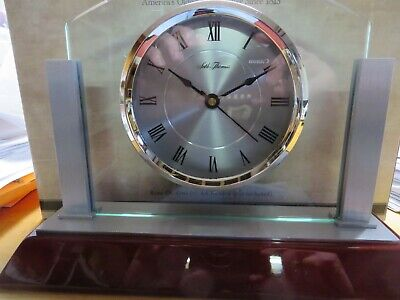 Seth Thomas Quartz Movement Desk Clock MSRP $79.00