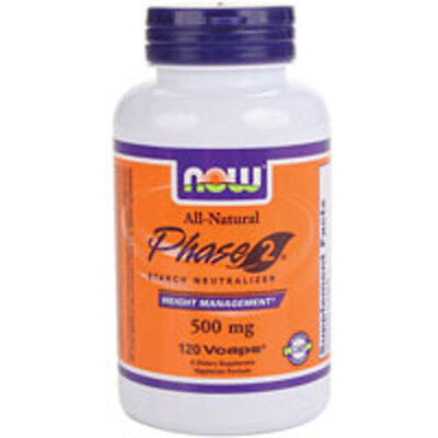 Phase 2 Starch Blocker 120 Vcaps 500 mg by Now Foods