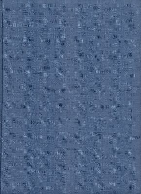 Zweigart 32ct Belfast Linen Cross Stitch Fabric Fat Quarter 578 Blue Spruce