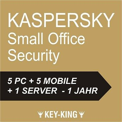 Kaspersky Small Office Security 5   5 Pc / User   5 Mobile   1 Server   Official