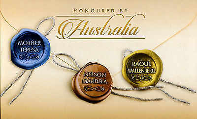 Australia 2013 Honoured by Australia 3 different Famous People $21 Booklets Pack