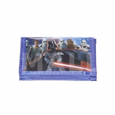 Kids Boys Coin Purse Wallet Billfold Money Bag Star Wars Xmas Gift Kylo Ren New