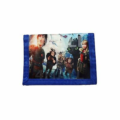 Kids Boys Coin Purse Wallet How to Train Your Dragon Xmas Gift New