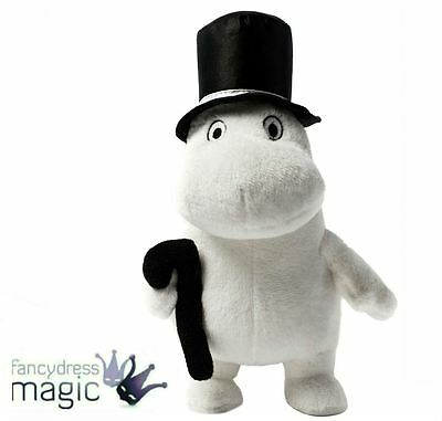 """*Moomin Pappa Plush 6.5"""" Soft Toy Collectable TV Cartoon Book 1970s Teddy Gift*"""