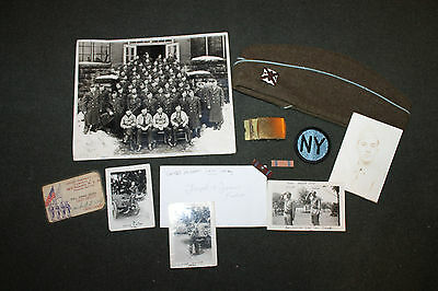Original Grouping Identified to a WW2 New York National Guard Infantry Soldier