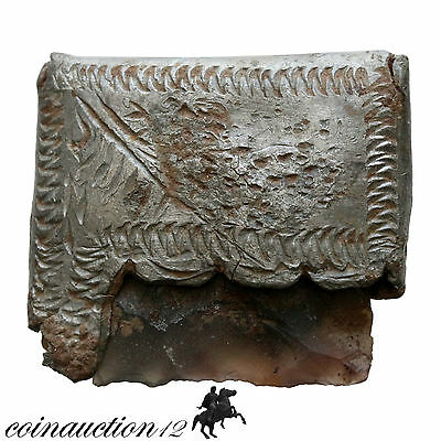 Scarce , Roman Silver Decorated Fire Starter 100-300 Ad