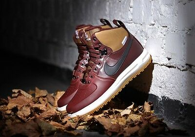 NEW Nike Air Lunar Force 1 Youth Boots WATERSHIELD Brown 706803 200
