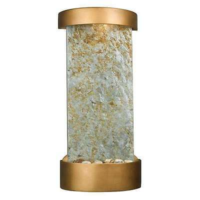 Kenroy Midstream Table/Wall Fountain In Natural Slate with Copper Finish 53238SL