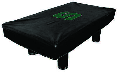 9 ft Michigan State Spartans MSUBTC100N-9 Fitted Billiard Pool Table Cover