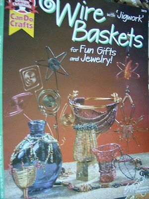 Wire Baskets With Jigwork Craft Book Decorations, Jewelry, Ornaments