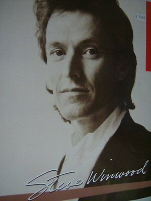 Steve Winwood 1986 High Life Tour Program Book