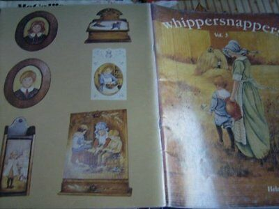 Whippersnappers #3 Painting Book-Barrick, Whitler, Shucking Corn, Writing Lesson