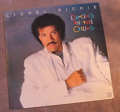 Lionel Richie 1986 Dancing on the Ceiling Motown Records PROMO RARE Poster VG