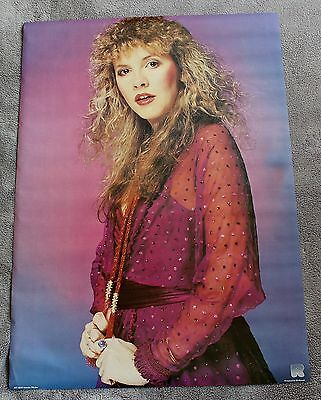 STEVIE NICKS (of Fleetwood Mac) Solo 1980s? Holland Music Poster #RO 059 VG C6