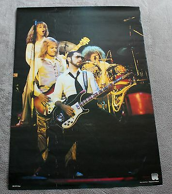 STYX 1980s Live Concert Group Photo Panozzo Holland Music Poster #RO 073 VG C6