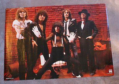 Reo Speedwagon 1980s Neal Doughty Kevin Cronin Bruce Hall Holland Poster G C4