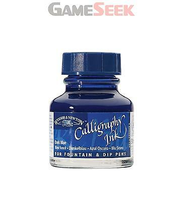 Winsor And Newton Calligraphy Ink 30Ml 222 Dark Blue