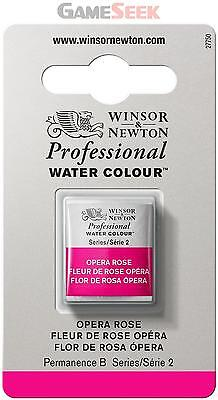 Winsor and Newton Half Pan Professional Water Colour - Opera Rose