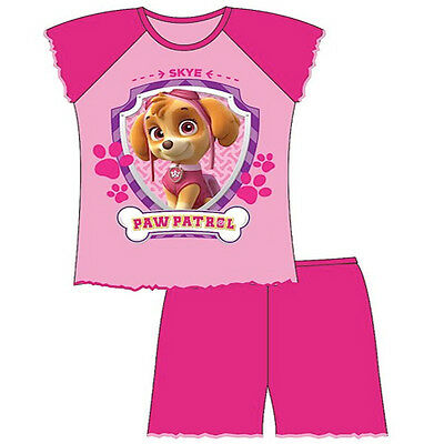 Girls Pink PAW PATROL Shortie Pyjama Set Pyjamas Nightwear 12-18m /18-24m 2 3 4