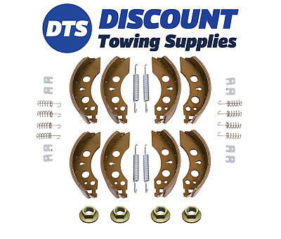 Trailer Brake Shoes Alko Type 2051 Axle Set Early Ifor Williams 200 X 50