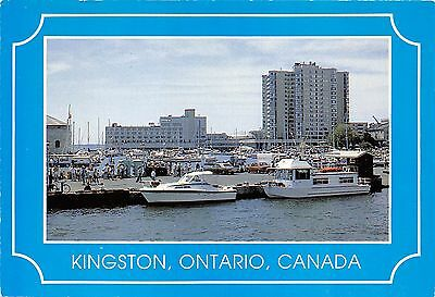 Marina at Kingston Waterfront Kingston Ont Continental card Ontario SONT 011