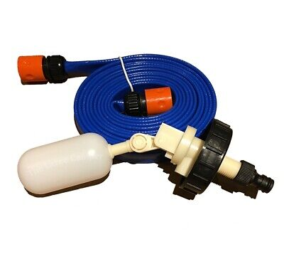 Caravan Motorhome Mains Water adapter kit for Aquaroll FLAT Food Grade pipe